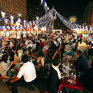 2018年 7月20日~ 小樽ビール 夏のビアガーデン 狸二条広場