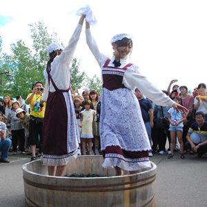 ふらのワインぶどう祭り2015 in まちなか