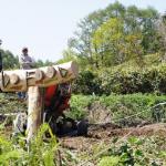 【農園プロジェクト2014】畑のできるまで 2014.05.10