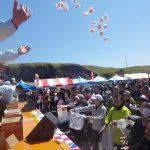 ◆餅まきが好き◆お祭りのイベントと云えば、みんな大好き「餅まき」