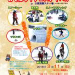 2018年 3月11日 あそぼう!フェスティバルin日高国際スキー場