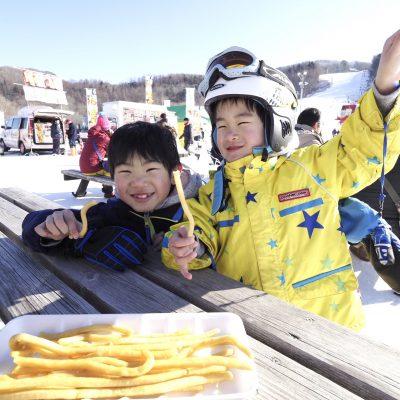 2021年 2月 6日~2021年 2月 7日 2021日高国際スキー場味の市フェスティバル